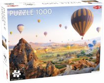 Puzzel Landscape: Hot Air Balloons / Cappadocia, Turkey - 1000 stukjes