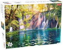 Puzzel Landscape: Waterfalls / Plitvice National - 1000 stukjes