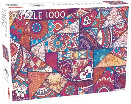 Puslespill 1000 Patchwork Patterns
