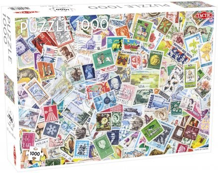 Puzzel Lovers' Special: Tons of Stamps - 1000 stukjes