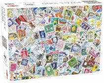 Puslespill 1000 Tons of Stamps