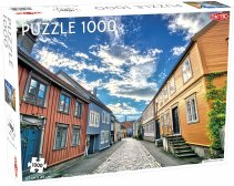 Puzzel Around the World, Nothern Stars: Trondheim Old Town - 1000 stukjes