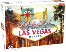 Puzzel Around the World: Las Vegas - 500 stukjes