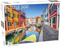 Puzzel Around the World: Burano, Venice - 500 stukjes