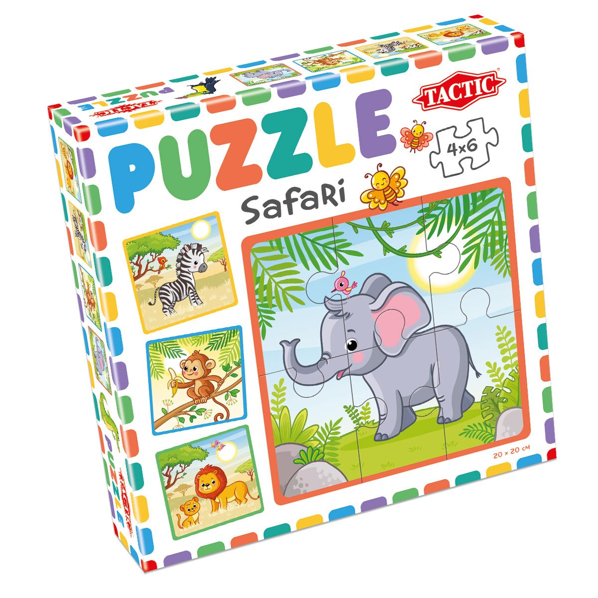 My First Puzzles 4x6 pcs: Safari