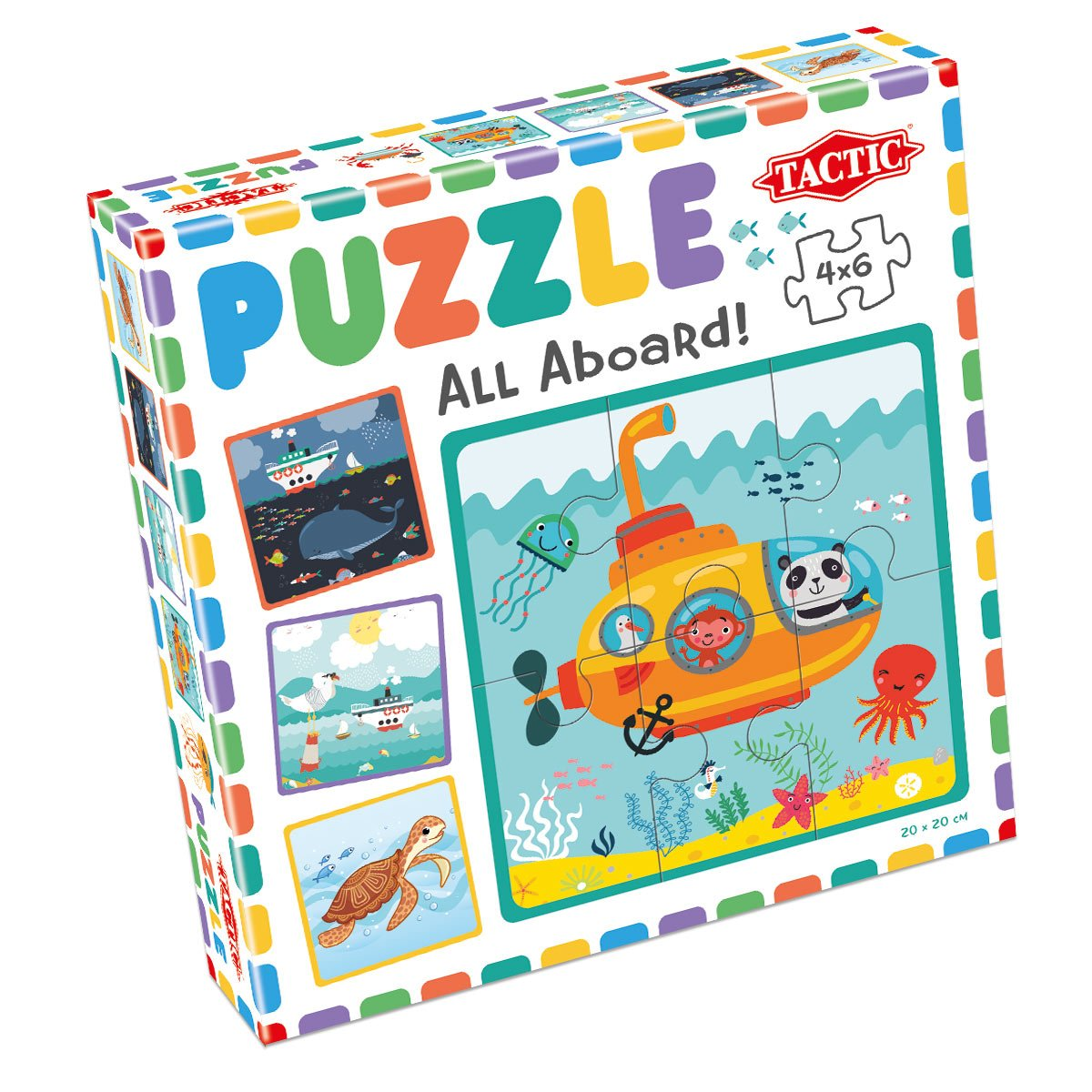 My First Puzzles 4x6 pcs: All Aboard!