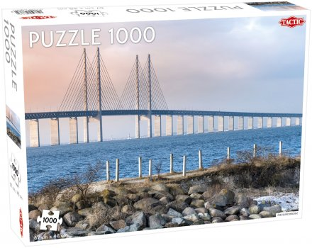 Puzzel Around the World, Northern Stars: Öresund Bridge - 1000 stukjes