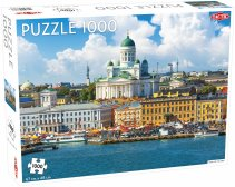 Puzzel Around the World, Northern Stars: View of Helsinki - 1000 stukjes