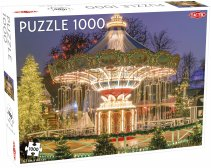 Puzzel Around the World, Nothern Stars: Copenhagen Tivoli - 1000 stukjes