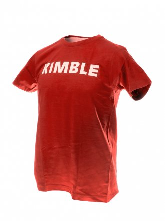 Kimble t-paita punainen, koko L, unisex