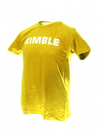 Kimble t-paita keltainen, koko L, unisex