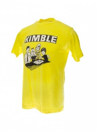 Retro Kimble t-paita keltainen, koko S, miesten
