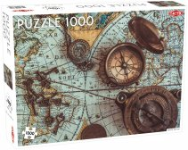 Pussel 1000 bitar Vintage Sea Map