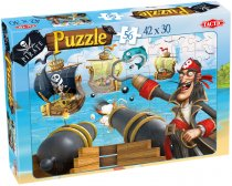 Piraten Puzzel Sea Battle  - 56 Stukjes