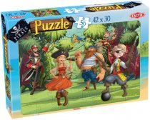 Piraten Puzzel Jungle Jam - 56 Stukjes