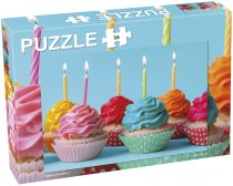 Puslespill Cupcakes 56 psc