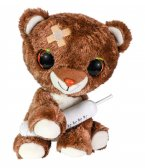 Lumo Get Well Brown Bear with syringe
