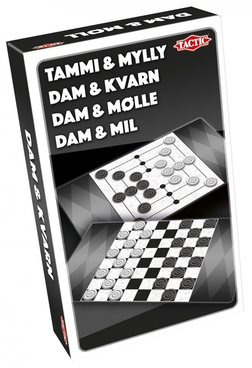 Nine Men's Morris / Checkers matkapeli