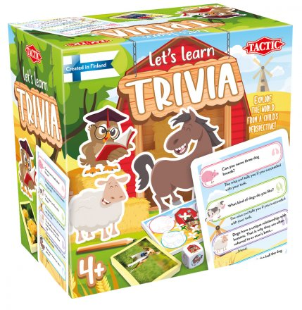 Let´s Learn Trivia game