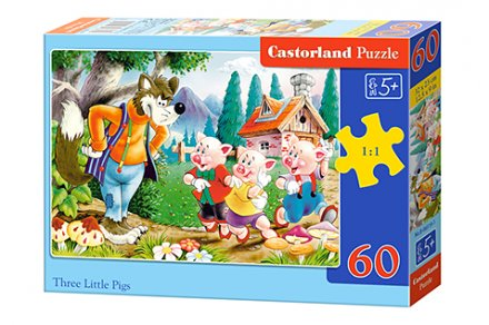 Three Little Pigs - 60 stukjes