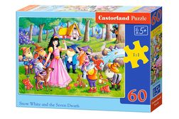 Snow White and the 7 dwarfs - 60 stukjes