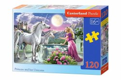 Princess and her Unicorns - 120 stukjes