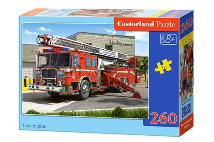 Fire Engine - 260 stukjes