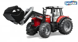 Massey Ferguson 7480 with frontloader