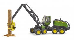 John Deere Harvester 1270 G with trunk