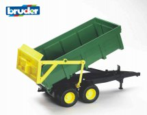 Tipping trailer (green)