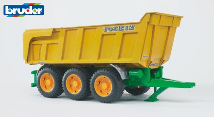 Joskin tipping trailer