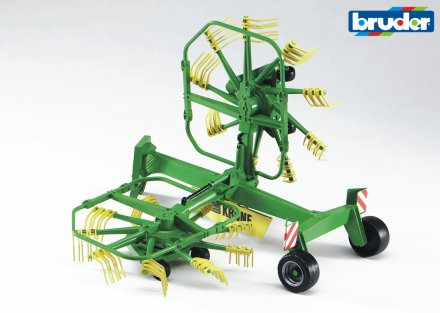 Krone dual rotary swath windrower