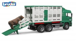 MAN TGA Cattle transportation truck including 1 cow