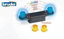 Lisävaruste: ääni- ja valomoduli (Sopii MAN-, Volvo- ja MB- rekk