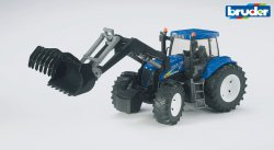 New Holland T8040 with frontloader