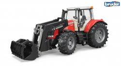 Massey Ferguson 7600 traktori etukuormaajalla