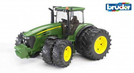 John Deere 7930 with twin tyres