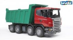 Scania R-Series kippikuorma-auto, 4- akselinen