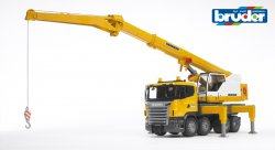 Scania R-Series Liebherr crane truck and Light & Sound Module