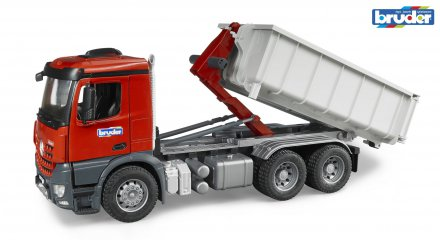 MB Arocs truck with Roll-Off-Container