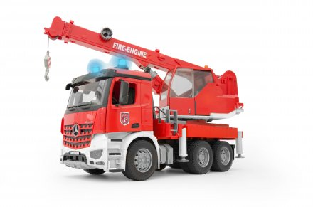 MB Arocs Fire engine crane truck with Light & Sound Module