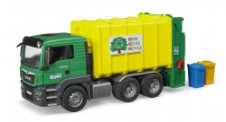 MAN TGS rear-loading garbage truck