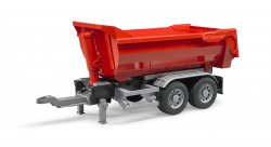 Halfpipe trailer for trucks