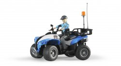 Police-Quad with Policewoman and accessories