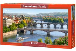 Vltava Bridges in Prague - 4000 stukjes