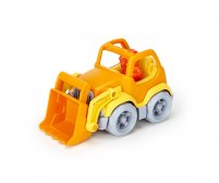 Scooper construction truck - Orange/Yellow