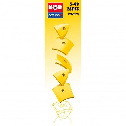 Geomag KOR 20 Pantone 108 Yellow Cover