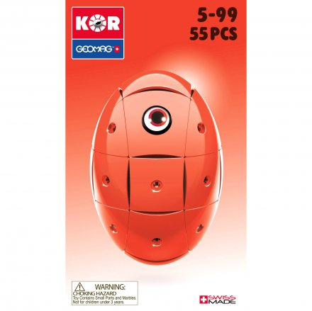 Geomag KOR 2 0 Pantone 485 red | TACTIC