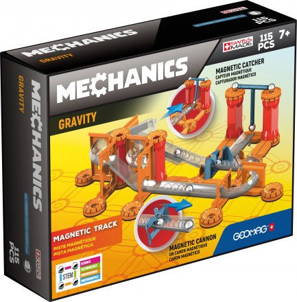 Geomag Mechanics Gravity Magnetic Track - 115 delig