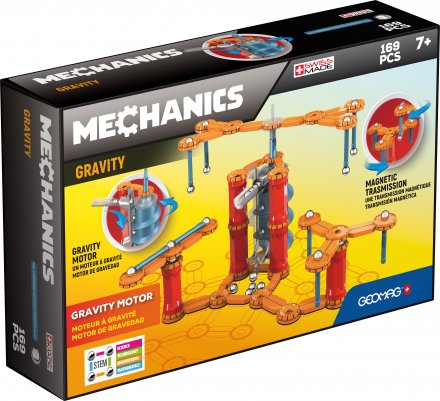 Geomag Mechanics Gravity Motor - 169 delig